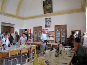 Photo: 13.10.09Gozo,Victoria : couvent St Augustin, repas,