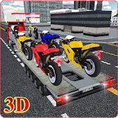 Bike Transport Truck 3D