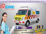 Book Low-Fare Emergency Life Support Ambulance in Bokaro by Medivic