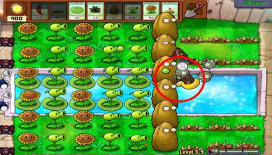 Pro Plants vs Zombie Tips - náhled