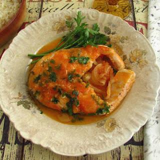 Salmon In Tomato Sauce