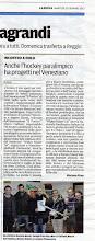 Photo: la Nuova di Venezia e Mestre (22.01.2013)