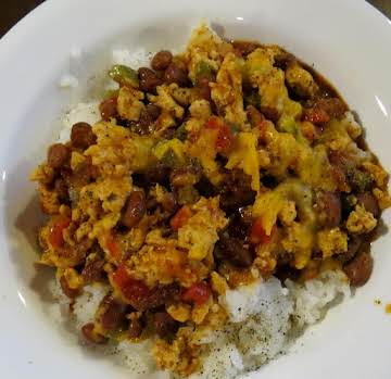 Easy Turkey Chili & Rice