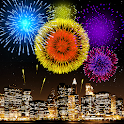 New Year Firework 2019 Live Wallpaper icon