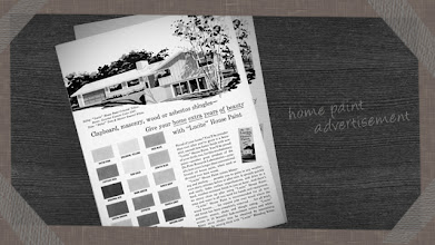 """Photo: A magazine ad for Lucite House Paint from the 1960s claimed to give homes """"...extra years of beauty."""""""
