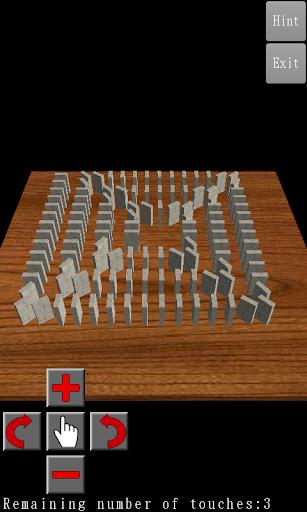 3D Domino Toppling filehippodl screenshot 2