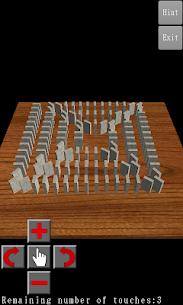 3D Domino Toppling 2