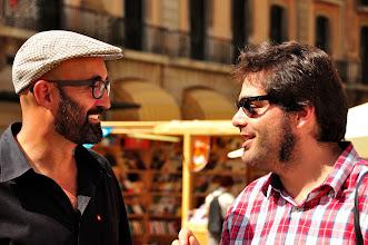 Photo: D'esquerra a dreta: CARLOS MAYOR, JOSE LUIS DÍEZ (http://www.aptic.cat/traductor/DiezLerma)