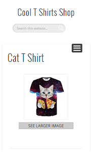 Cool T Shirts Shop screenshot 2