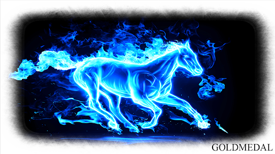 Horse Fire Wallpaper