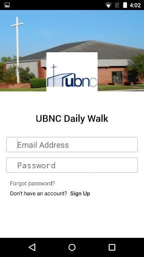 UBNC Daily Walk