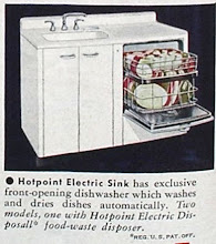 Photo: The Hotpoint electric sink came with a built in dishwasher, and an optional garbage disposal.
