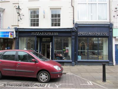 Pizzaexpress On High Street Restaurant Italian In Town
