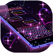 Dark Purple Keyboard