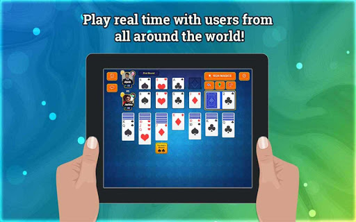 Solitaire Online - Free Multiplayer Card Game 4.8 screenshots 9
