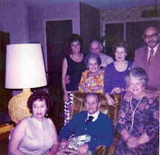 Photo: (T) LaDell Marks, Celia Heyman Marks, Leo Heyman, Ruth Goldman Heyman, Unknown (B) Mynette Heyman Pound, Leo Metzner, Unknown