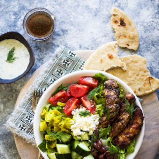 Grilled Chicken Greek Salad Recipe