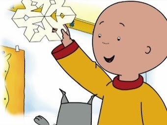 Snowflakes/Caillou Shoots! He Scores!/Caillou goes Tobogganing