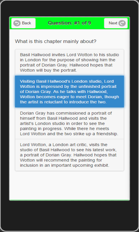 edMe Reading: Picture of Dorian Gray- screenshot