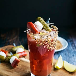 A Classic Caesar Cocktail with a Pickle Twist.