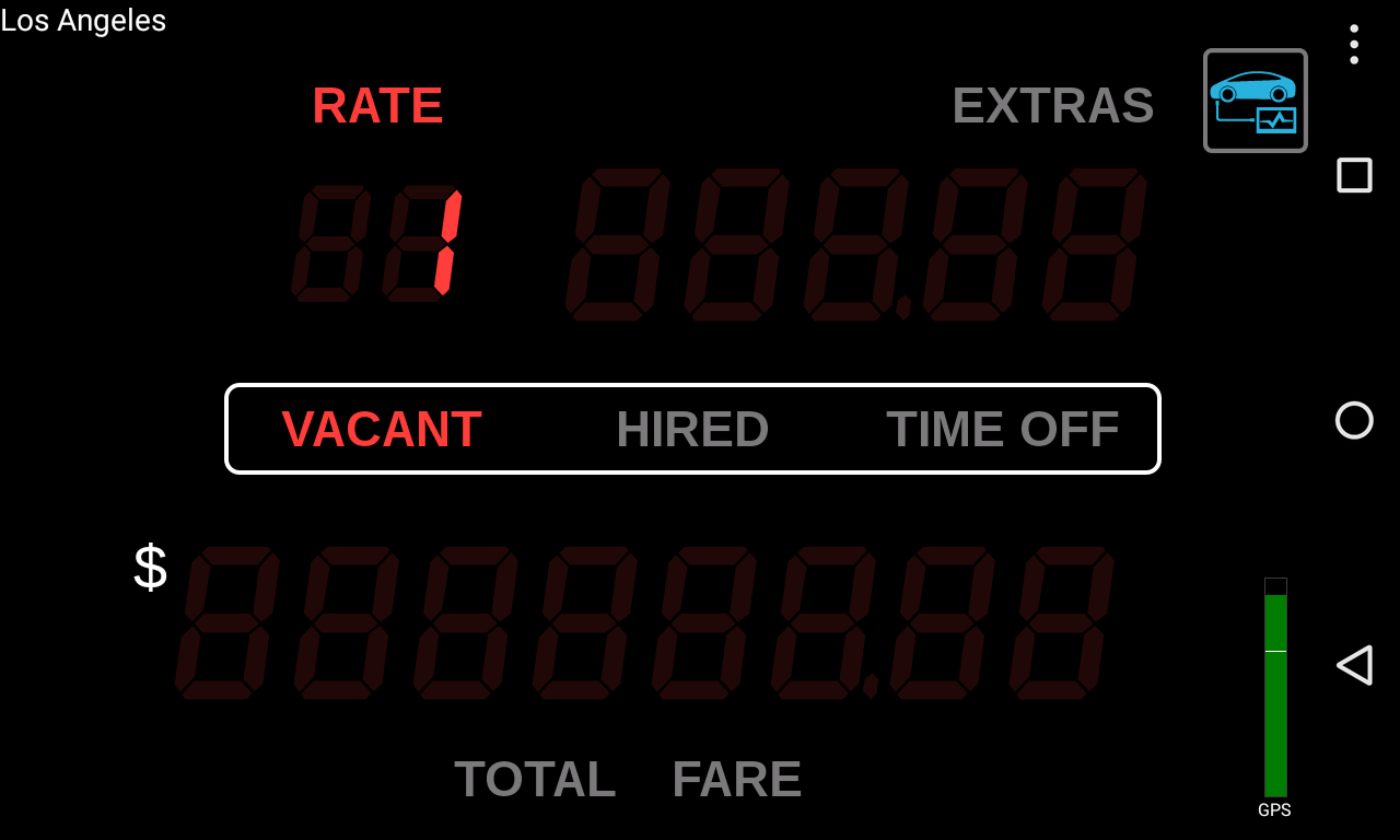 Taximeter- screenshot