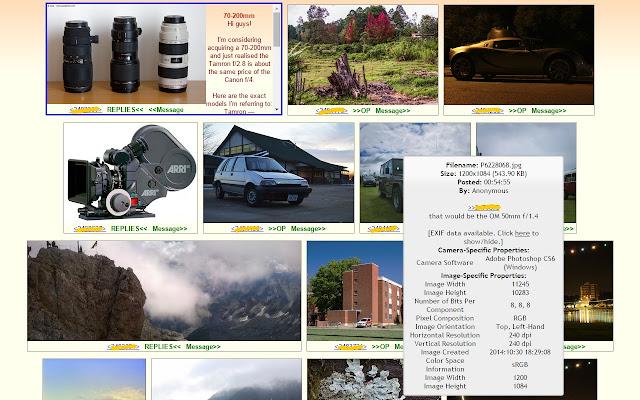 4chan Image Browser - Chrome 웹 스토어