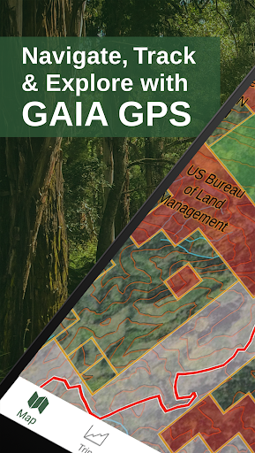 Gaia GPS: Hiking, Hunting Maps screenshot 1
