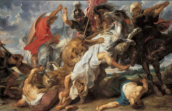 Photo: Peter Paul Rubens, Lion Hunt, Ca. 1621