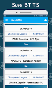 Download BTTS Both Teams To Score - Bet Predictions For PC Windows and Mac apk screenshot 3
