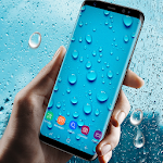 Running Waterdrops Live Wallpaper 2.2.0.2390