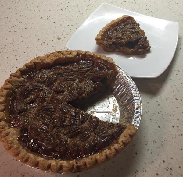 Pecan Pie With A Twist Recipe