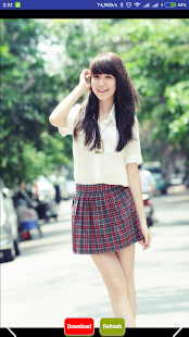 Asian Girl Beautiful Schools - náhled
