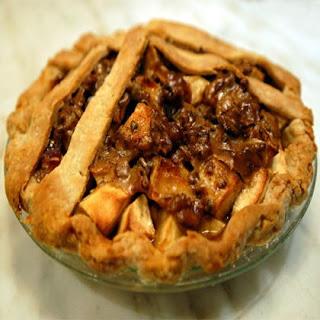 Captain America's Bacon Apple Pie