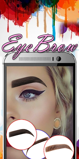 Eyebrow Shaping App - Beauty Makeup Photo  screenshots 3