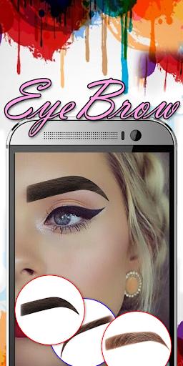 Eyebrow Shaping App - Beauty Makeup Photo 6.1 screenshots 3