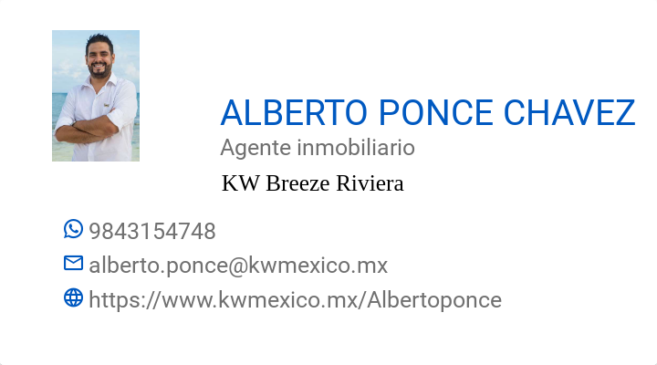 BusinessCard of ALBERTO PONCE CHAVEZ