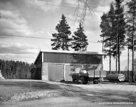 Photo: Vasselhyttans bygdegård, garaget
