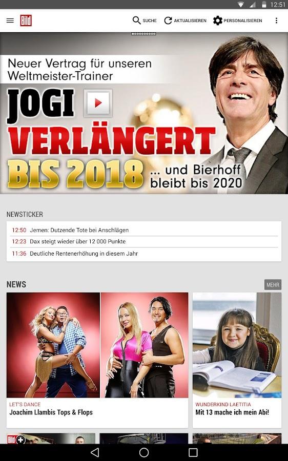 BILD App: Nachrichten und News - screenshot