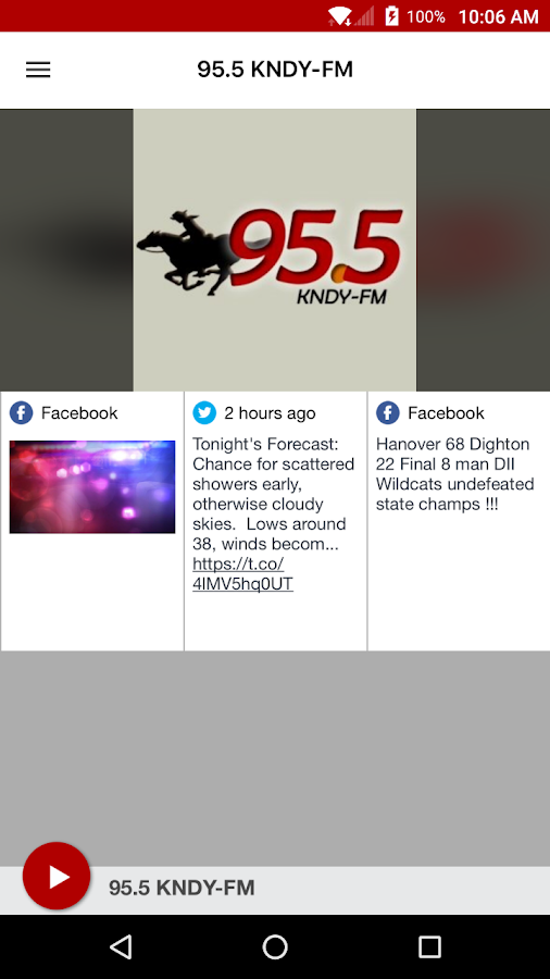 95.5 KNDY-FM- screenshot