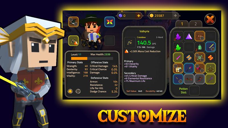 King of Raids: Magic Dungeons Screenshot 2