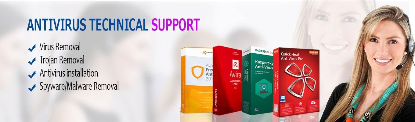 antivirus support number