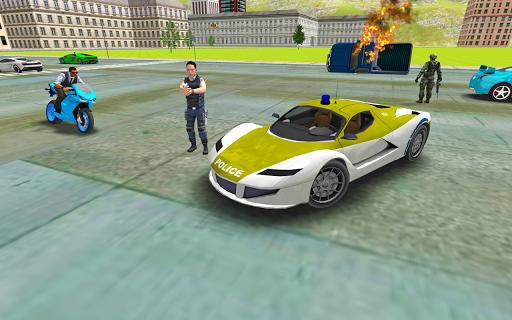 Télécharger Police Crime Simulator - Police Car Driving  APK MOD (Astuce) screenshots 6