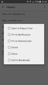 Popup Links screenshot 2