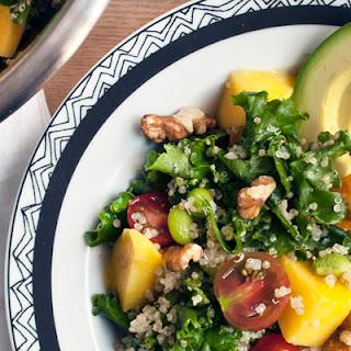 Kale and Quinoa Superfood Salad.