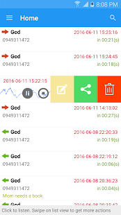 PRO Robot Note Call Recorder Screenshot
