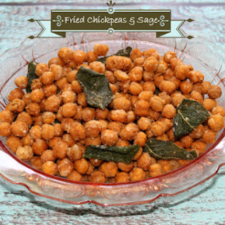 Fried Chickpeas and Sage