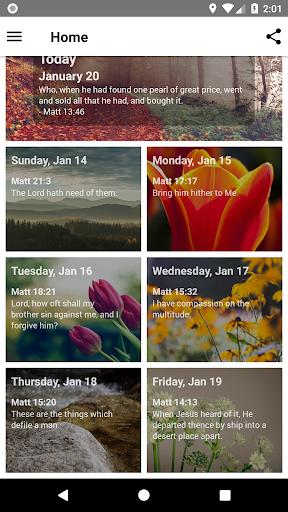 Mornings With God - Lite 4.54.0 screenshots 2
