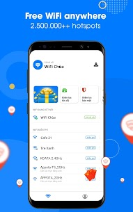 WiFi Chùa – Connect free hotspots 1