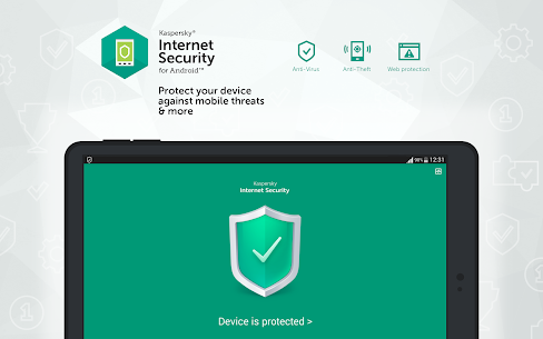 Kaspersky Mobile Antivirus : AppLock & Web Security 8