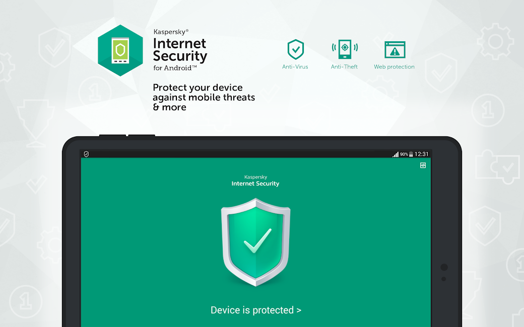 #8. Kaspersky Antivirus & Security (Android)